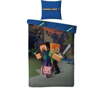 Minecraft Duvet cover Attack 140x200cm
