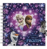 Disney Frozen Mixed design - Diary - 17 x 16 cm - Includes lock