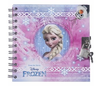 Disney Frozen Journal Intime avec serrure (design mixte)