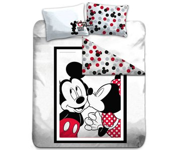 Disney Mickey Mouse Bettbezug Kiss Doppel 200x200cm