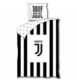 Juventus Logo - Duvet cover - Single - 140 x 200 cm - Black White