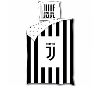 Juventus Dekbedovertrek Logo 140x200cm Microvezel