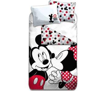 Disney Mickey Mouse Dekbedovertrek Kiss 140x200cm
