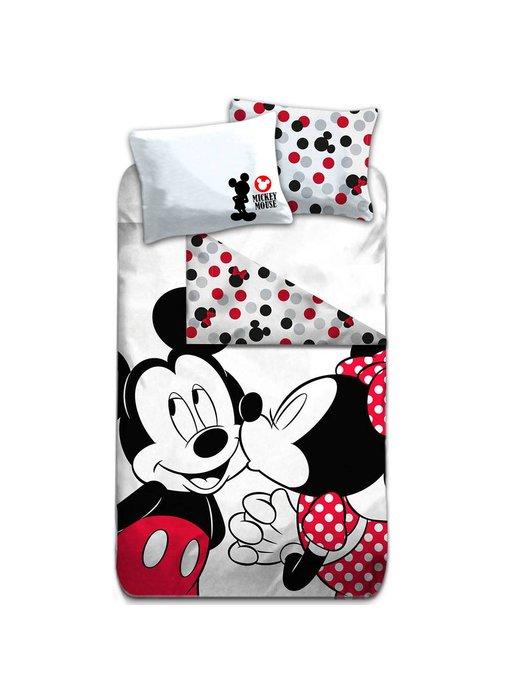 Disney Mickey Mouse Duvet cover Kiss 140x200cm