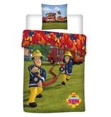 Brandweerman Sam Action - Duvet cover - Single - 140 x 200 cm - Multi