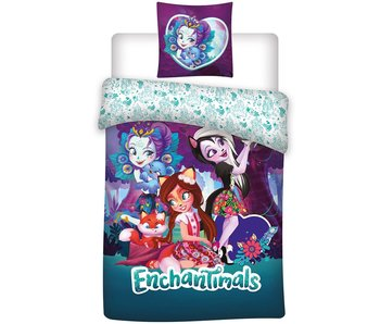 Enchantimals Duvet cover 140x200cm Microfiber