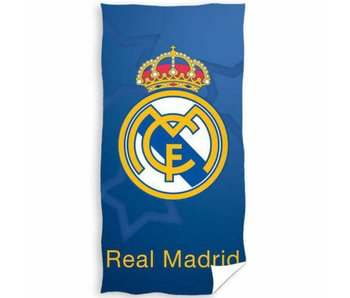 Real Madrid Serviette de plage Logo 70 x 140 cm
