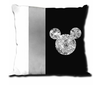 Disney Mickey Mouse Coussin  Sequin 40 x 40 cm