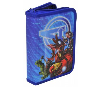 Marvel Avengers Second Choice Filled Pencilcase 21 pieces