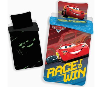Disney Cars Bettbezug Glow in the Dark