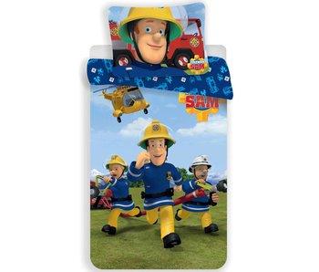 Brandweerman Sam Bettbezug Team 140x200cm