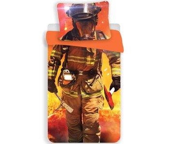 Dekbedovertrek Brandweerman 140x200cm