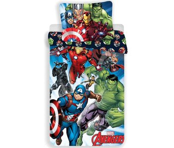 Marvel Avengers Bettbezug Hulk 140x200cm