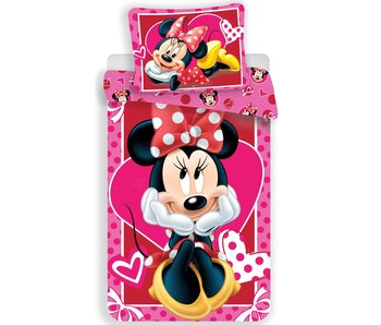 Disney Minnie Mouse Duvet cover Hearts 140x200cm