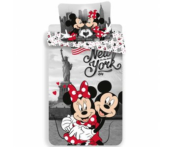 Disney Minnie Mouse Dekbedovertrek New York 140x200cm