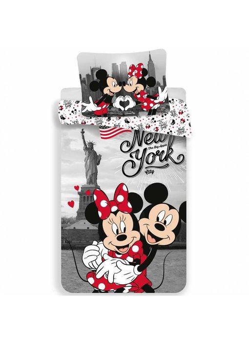 Disney Minnie Mouse Dekbedovertrek New York 140x200cm