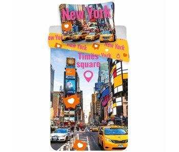 New York Dekbedovertrek Times Square 140x200cm