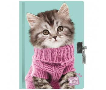 Studio Pets Scented Diary 15 x 20 cm including lock