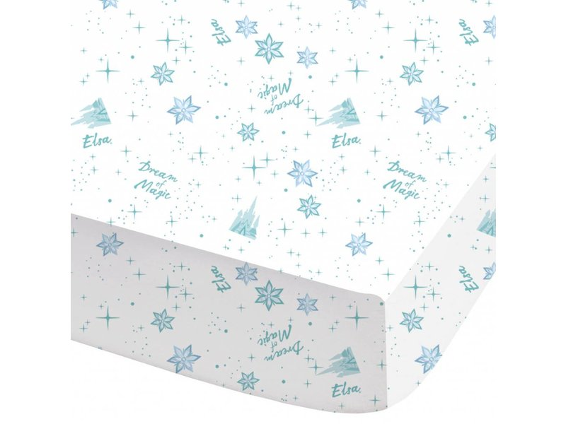 Disney Frozen Dream - Fitted sheet - Single - 90 x 200 cm - White