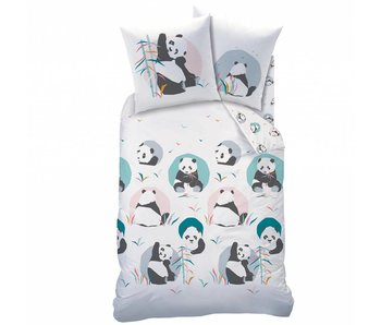 Matt & Rose Duvet cover Panda 140x200cm