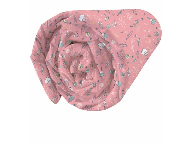 Matt & Rose Dreamcatcher - Fitted sheet - Single - 90 x 200 cm - Coral