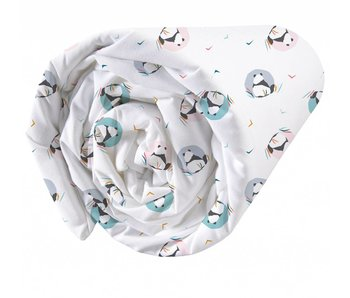 Matt & Rose Fitted sheet Panda 90x200cm