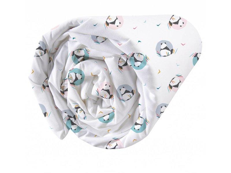 Matt & Rose Panda - Hoeslaken - Eenpersoons - 90 x 190/200 cm - Multi