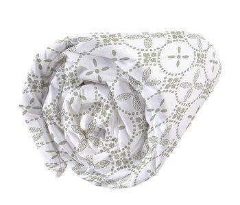 Matt & Rose Fitted sheet Tendance Ceramique Kaki 90x200cm