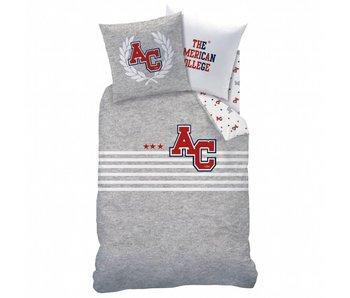 American College Bettbezug Stripes 140x200cm Polycotton einschließlich Schlafanzugtasche
