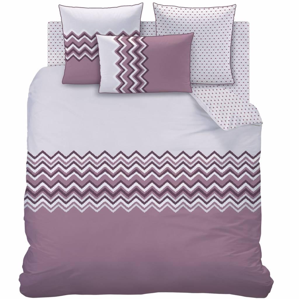 Esprit Bedding Collection Quilt Cover Set Lily Super King Size Matt Rose Chevrons Duvet Double 1024x1024