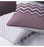 Matt & Rose Esprit Chevrons - Bettbezug - Einzel - 140 x 200 cm - Rosinen