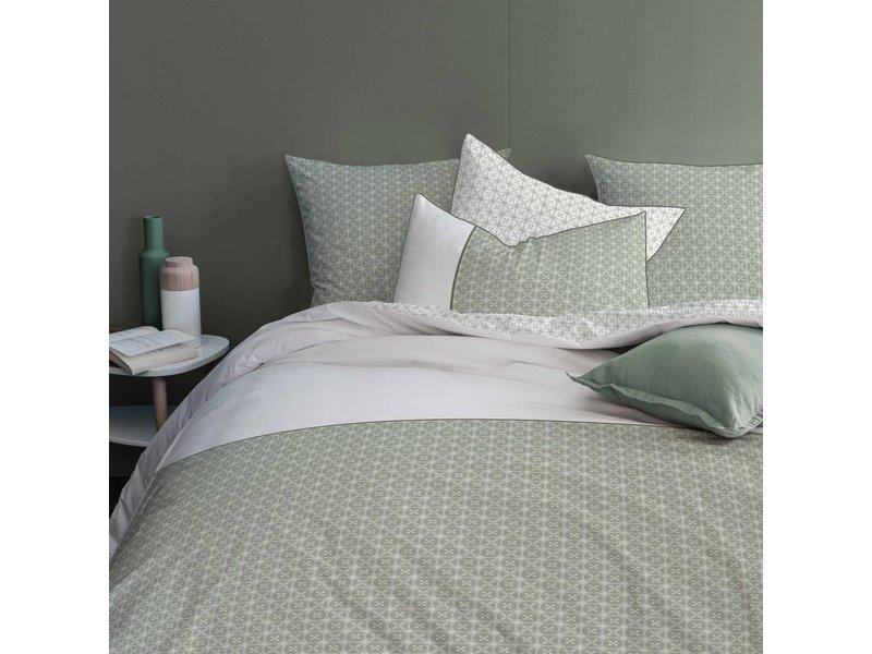 Matt & Rose Tendance Ceramique Khaki - Duvet cover - Hotel size - 260 x 240 cm - Green