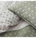 Matt & Rose Tendance Ceramique Kaki - Duvet cover - Twin beds - 240 x 220 cm - Green
