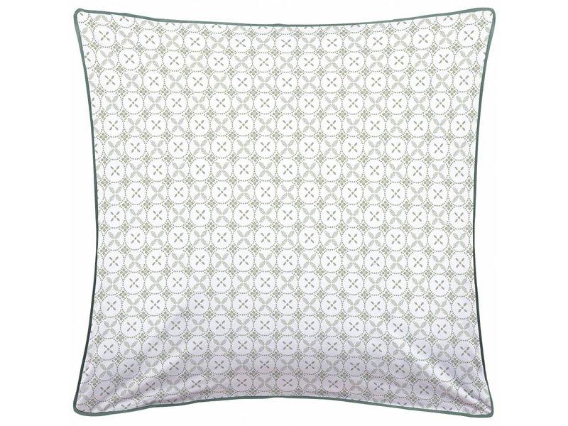 Matt & Rose Tendance Ceramique Kaki - Bettbezug - Einzelbetten - 240 x 220 cm - Grün