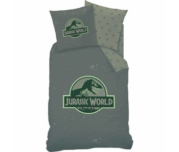 Jurassic World Duvet cover Logo 140x200 cm
