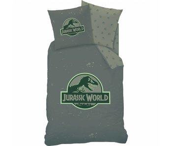 Jurassic World Housse de couette Logo 140x200 cm