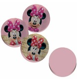 Disney Minnie Mouse Paillettes - ø36 - 3D Sierkussen - Roze