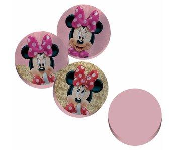 Disney Minnie Mouse 3D Wurfkissen Pailletten ø36