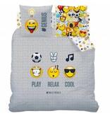 Smiley World Mood - Dekbedovertrek - Lits Jumeaux - 240 x 220 cm - Multi