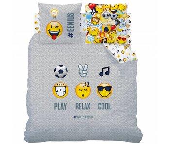 Smiley Duvet cover Mood 240x220cm including pajama bag