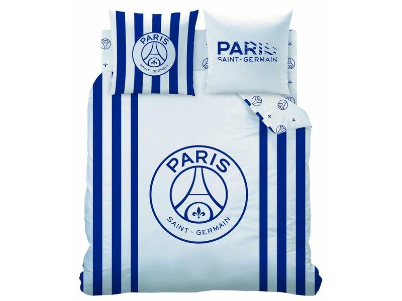 Paris Saint German Duvet Cover Rayures 240x220 2 63x63 Cotton Simbashop Nl