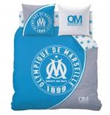 Olympique Marseille 1899 - Dekbedovertrek - Lits Jumeaux - 240 x 220 cm - Blauw