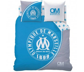 Olympique Marseille Bettbezug 1899 240x220cm Polycotton einschließlich Schlafanzugtasche