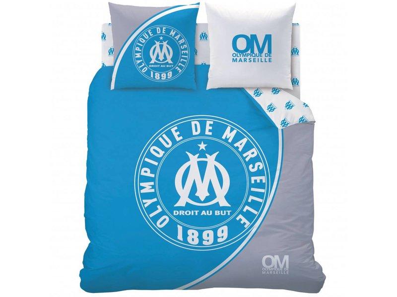 Olympique Marseille 1899 - Bettbezug - Doppelbett - 240 x 220 cm - Blau