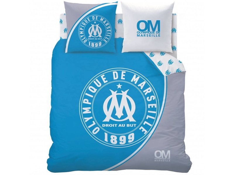 Olympique Marseille 1899 - Duvet cover - Double - 240 x 220 cm - Blue