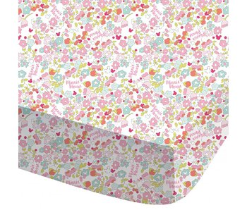 Disney Minnie Mouse Fitted sheet Bloom 90x200 cm