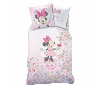 Disney Minnie Mouse Dekbedovertrek Bloom 140x200 cm