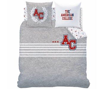 American College Bettbezug Stripes 240x220cm Polycotton einschließlich Schlafanzugtasche