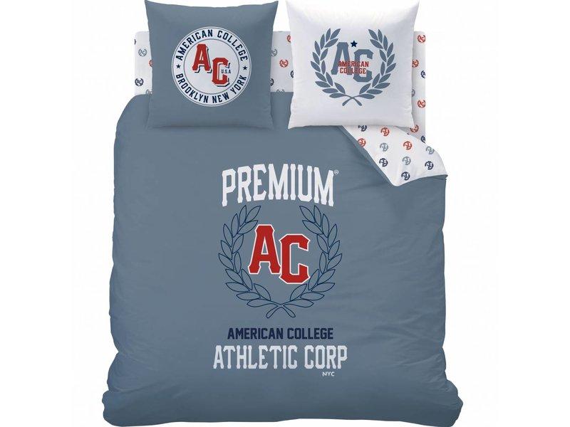 American College Athletic - Bettbezug - Lits Jumeaux  - 240 x 220 cm - Multi