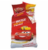 Disney Cars Rusteze - Duvet Cover - Single - 140 x 200 cm - Red